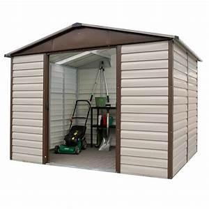 Amazon Abri De Jardin Metal : petit abri de jardin m tal 4 79 m ep 0 30 mm yardmaster ~ Edinachiropracticcenter.com Idées de Décoration