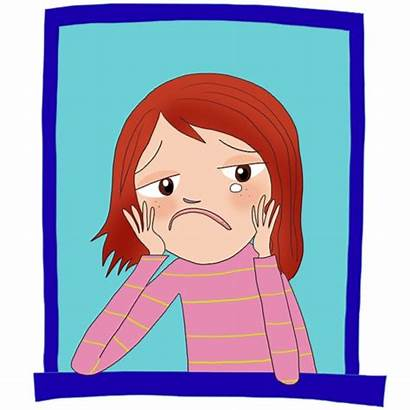 Sad Cartoon Person Clipart Mother Worst Story