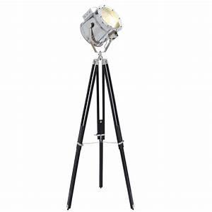 Urban designs movie studios floor prop spotlight with for Floor standing spotlight lamp