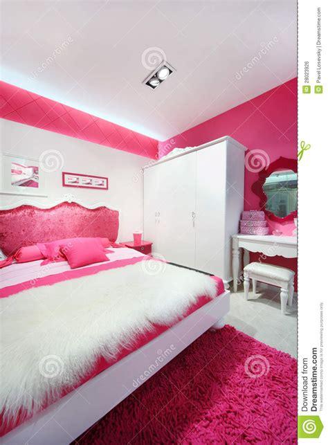 belles chambres à coucher chambre à coucher blanche image libre de droits