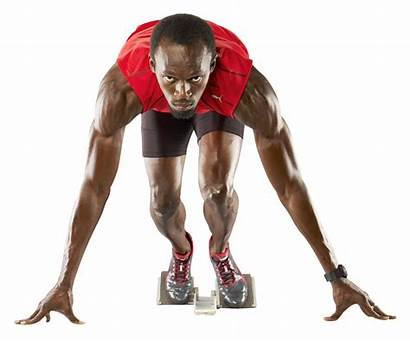 Transparent Sports Athlete Background Bolt Usain Sport