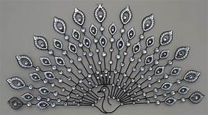 Decoration Murale Fer : d coration murale fer forg paon strass ~ Melissatoandfro.com Idées de Décoration