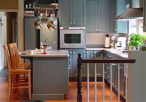 20 stylish ways to work with gray kitchen cabinets With kitchen cabinet trends 2018 combined with toy story wall art