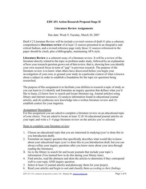 The federal legislation no child left behind requires that education programs are adopted only if they are based on quality research and proven effectiveness. How To Do A Literature Review Apa Style
