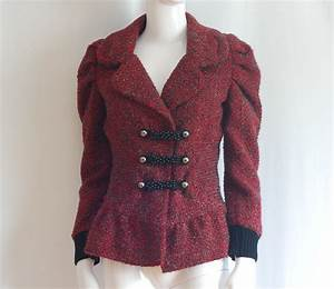 Lm lulu paris victorian style blazer france quiet west for Robe lm lulu