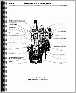 Continental Engines F163 Engine Service Manual