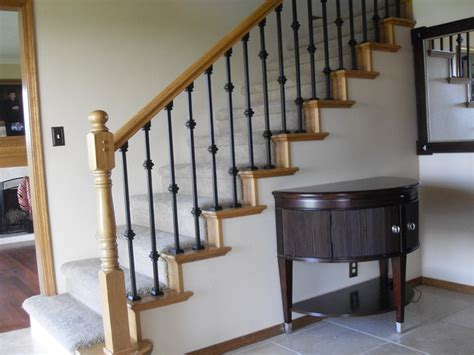 Replacement Stair Banisters by Baluster Replacement Traditional Staircase Portland