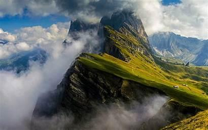 Mountain Mountains Dolomites Italy Range Dolomite Italian