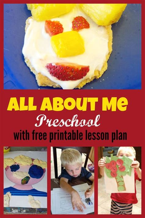 all about me preschool theme week with free printable two 643 | 86e483943bc2d192ea5756ffc1363d1f