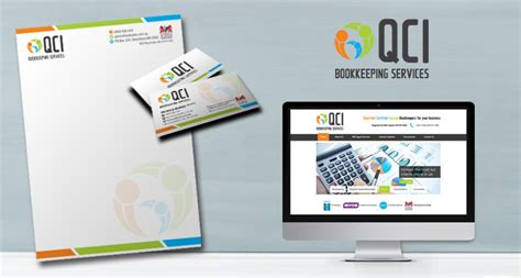 Qci Bookkeeping Services  Sydney Logos  Logo Design