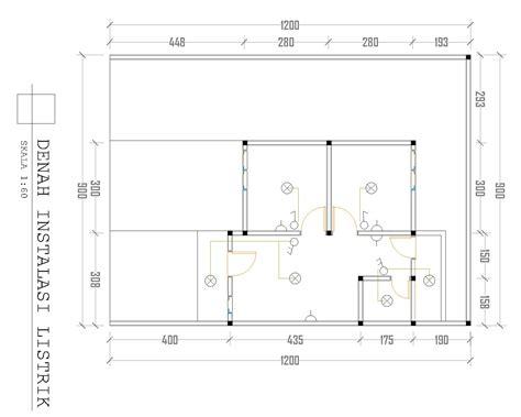 gambar desain rumah type  perumahan tanah merah