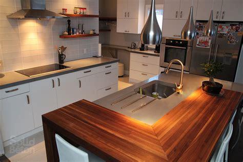 cuisine comptoir bois comptoir de cuisine en bois franc wraste com
