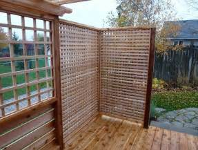 outdoor patio privacy screen ideas home design ideas