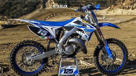 2018 Tm 125 2 Stroke Raw  Motocross Action Magazine Youtube