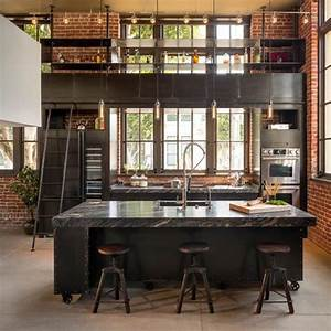 Industrial bei houzz loft style wohnen dank industrial for Wohnen industrie style