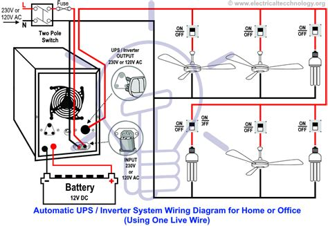 Both A Power Switch And Schematic Wiring by Inverter Wire Diagram Repair Manual
