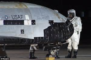 Top secret X-37B USAF military spacecraft set to land in ...