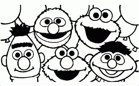 Coloring Pages With Alphabet Letters : Sesame street printable coloring pages democraciaejustica