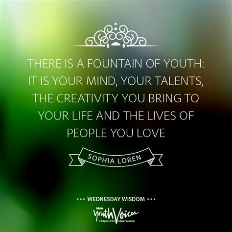 fountain  youth quotes quotesgram