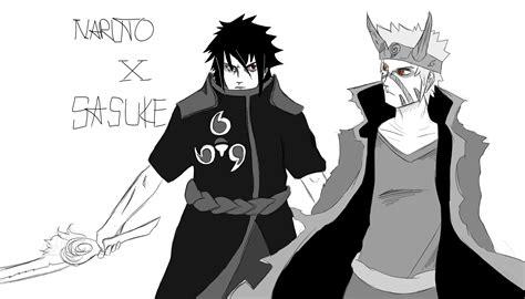 Future Naruto X Sasuke Sketch Part 2 By Thempxy On Deviantart