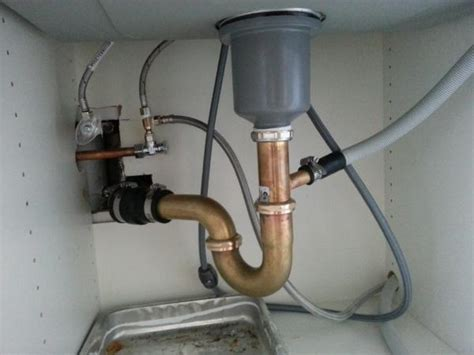 kitchen sink drain pipe with dishwasher kitchen sink extremely drain doityourself 9549