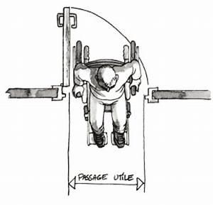 Largeur Porte Pmr : passage de porte pour fauteuil roulant passage de porte pour fauteuil roulant rampe de passage ~ Melissatoandfro.com Idées de Décoration