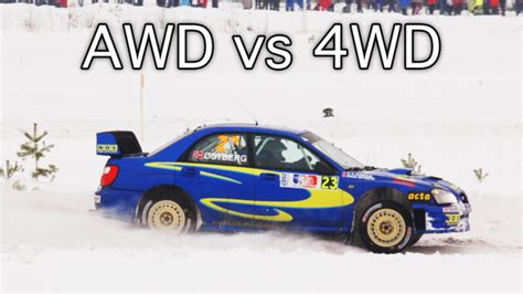 Awd Vs 4wd What's The Real Difference?
