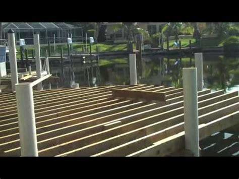 easmunt dock  construction  tuffdock pvc pilings