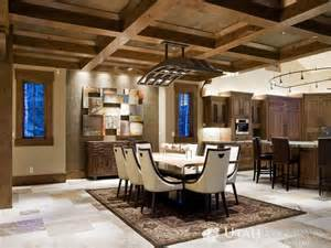 Rustic Home Touch Bring Luxury Nature Rustic Interior Design For The Living Room