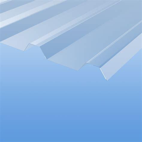 lichtplatten aus polycarbonat lichtplatten aus polycarbonat trapezprofil 207 35 klar stegplattenshop