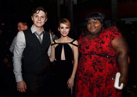 Evan Peters, Emma Roberts, Gabourey Sidibe - Evan Peters ...