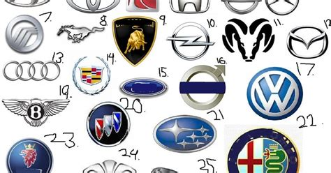 The Gallery For > Luxury Cars Logo And Names