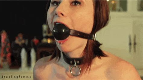 Gggirl Is Tied Up And Tries To Get Rid Of The Huge Red
