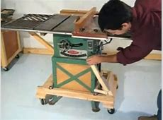 Table saw mobile base YouTube