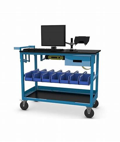 Computer Equipment Cart Steelsentry Lan Furniture