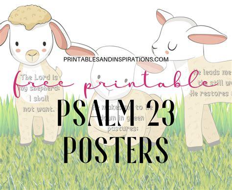 printable psalm  poster banner printables