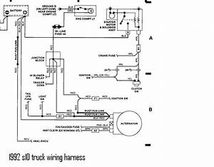 Chevy S10 4 3 1992 Starter Wiring Diagram