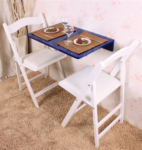 wall mounted drop leaf table folding kitchen dining