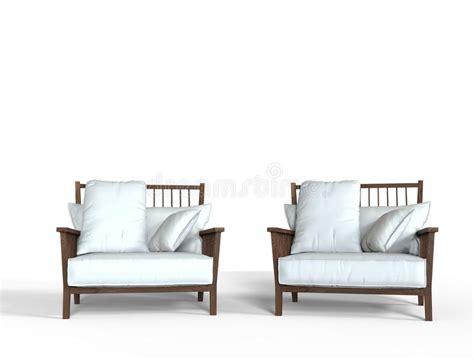 Due Poltrone Moderne Illustrazione Di Stock. Illustrazione