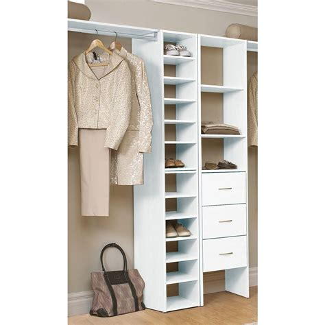 Where To Buy Closetmaid closetmaid selectives 41 1 2 in white stackable 7 shelf