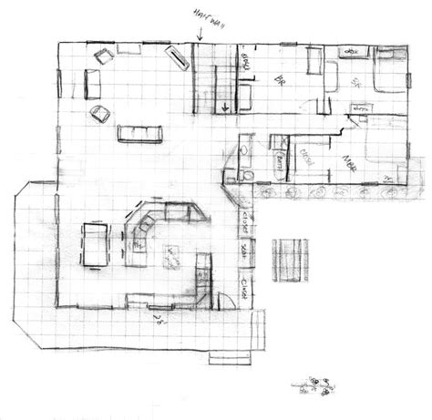 kitchen addition floor plans the blueprints for our house w new kitchen addition 4967