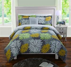 Mustard, Yellow, Comforters, And, Bedding, Sets