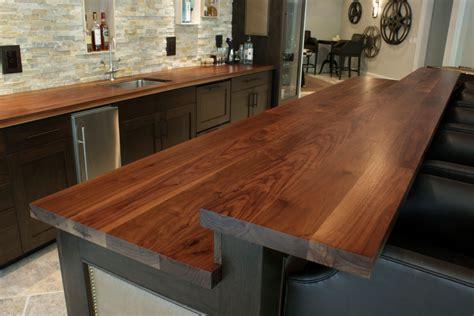 kitchen island with bar top raised bar tops j aaron