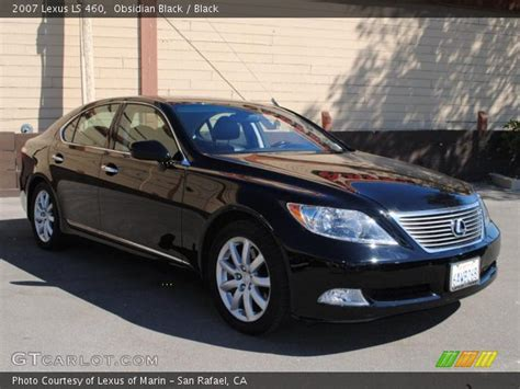 black lexus 2007 obsidian black 2007 lexus ls 460 black interior