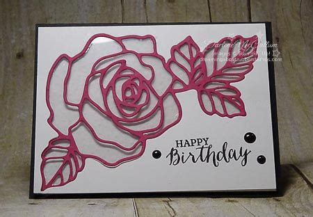 stampin  rose  bundle card www