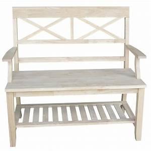 International, Concepts, Wood, Entryway, Bench, U0026, Reviews