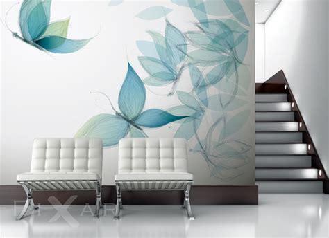 badezimmer bambus schmetterlingsflügel fototapete fürs wohnzimmer