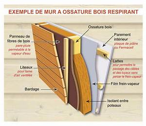 Epaisseur Mur Ossature Bois : quelle isolation pour la maison en bois ~ Melissatoandfro.com Idées de Décoration