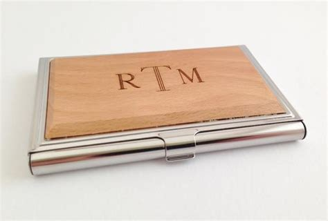Personalized Business Card Case Wood Custom Wood Business Business Logo Design Adelaide Handouts Hindu Line Glassware Maker Australia Card Dimensions Mm Uk Letter To Bank Template And