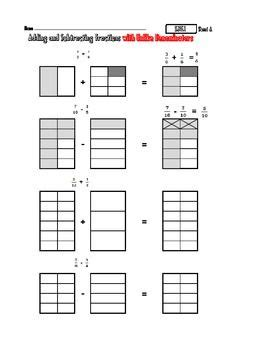 5 nf 1 add subtract fractions with visual pictures